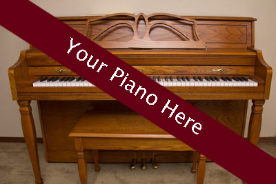 Enlist Mark's help to sell your piano